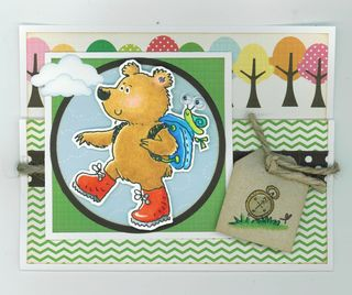 TAKE A HIKE WITH FRED BEAR