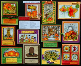 Happy harvest northwood stamps