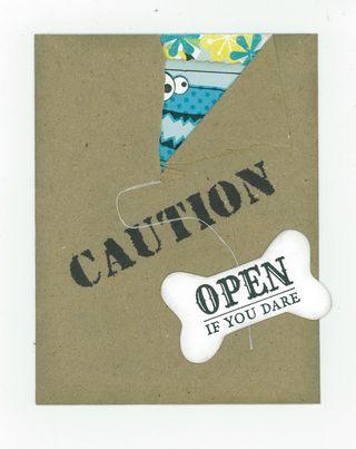 RIP CORD CARD