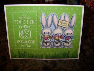 Stephanie easter card