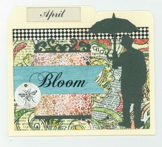 April File Folder Card