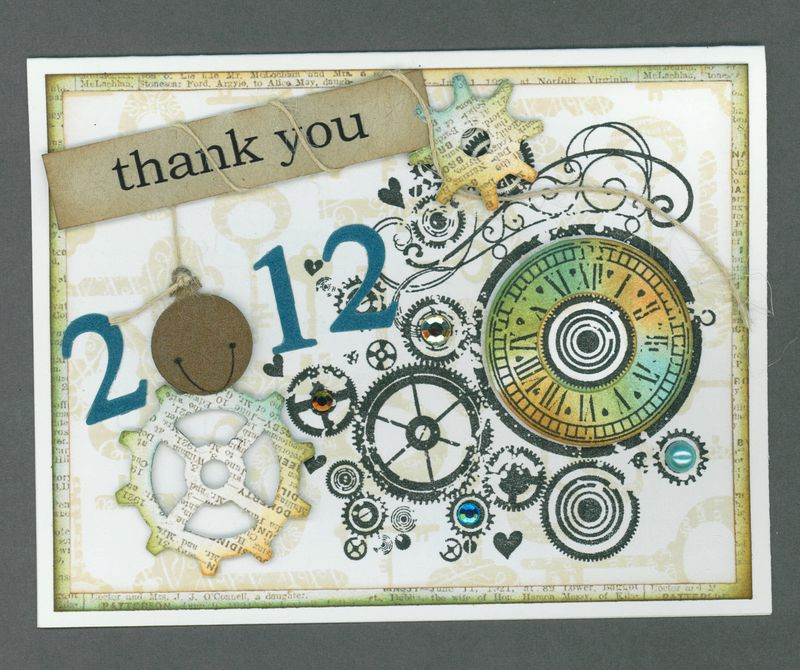 NEW YEAR THANK YOU
