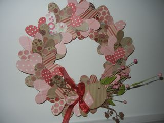 Amy valentines wreath