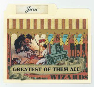 JUNE FILE FOLDER CARD