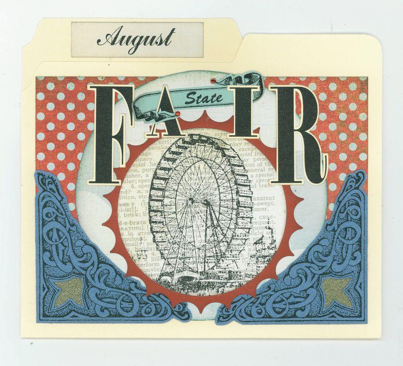 AUGUST FILE FOLDER CARD