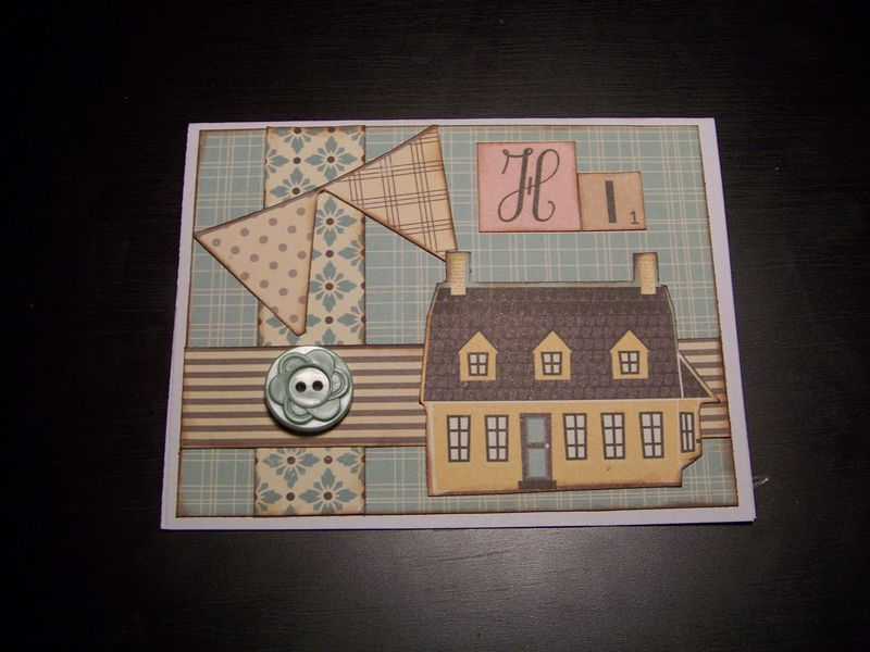 Stephanie farmhouse card
