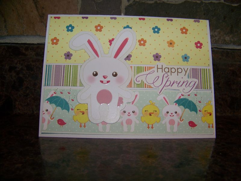 Stephanie imaginisce card